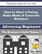How to Start a Paving Slabs Made of Concrete Business (Beginners Guide) - How to Start a Paving Slabs Made of Concrete Business (Beginners Guide) ebook by Paige Shaver