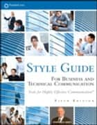 FranklinCovey Style Guide - For Business and Technical Communication ebook by Stephen R. Covey