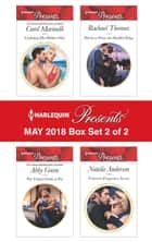 Harlequin Presents May 2018 - Box Set 2 of 2 - Claiming His Hidden Heir\The Virgin's Debt to Pay\Hired to Wear the Sheikh's Ring\Princess's Pregnancy Secret ebook by Abby Green, Carol Marinelli, Rachael Thomas,...