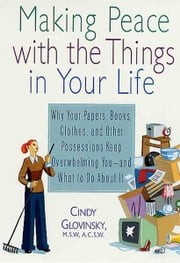 Making Peace with the Things in Your Life - Why Your Papers, Books, Clothes, and Other Possessions Keep Overwhelming You and What to Do About It ebook by Cindy Glovinsky,Graham Dawson