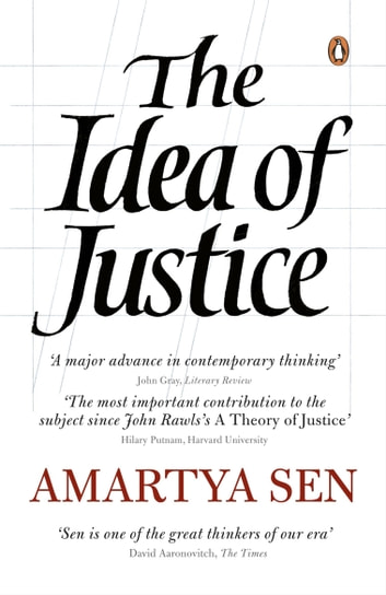 The Idea of Justice ebook by Amartya Sen