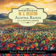 Agatha Raisin and the Potted Gardener audiolibro by M. C. Beaton