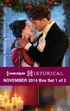 Harlequin Historical November 2014 - Box Set 1 of 2 - Wish Upon a Snowflake\The Wrong Cowboy\Darian Hunter: Duke of Desire\The Rake's Bargain\Rescued by the Viscount\The Warrior's Winter Bride ebook by Lauri Robinson, Carole Mortimer, Lucy Ashford,...