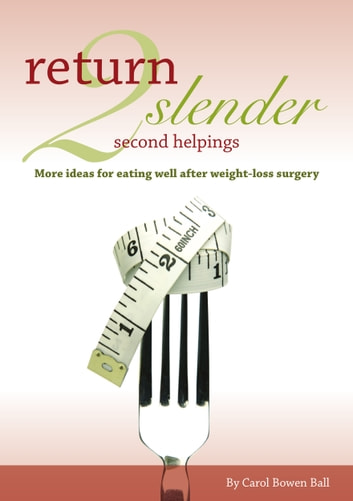 Return 2 Slender Second Helpings - More ideas for eating well after weight-loss surgery ebook by Carol Bowen Ball
