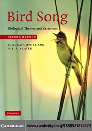 Bird Song ebook by Catchpole,Clive