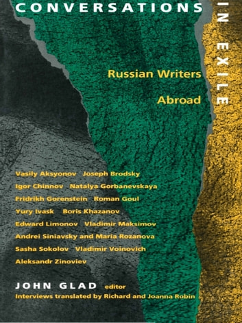 Conversations in Exile - Russian Writers Abroad ebook by