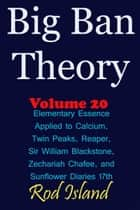 Big Ban Theory: Elementary Essence Applied to Calcium, Twin Peaks, Reaper, Sir William Blackstone, Zechariah Chafee, and Sunflower Diaries 17th, Volume 20 ebook by