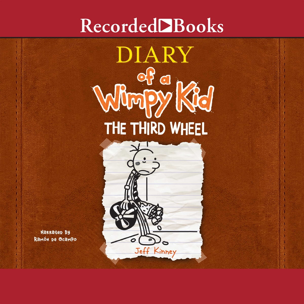 Diary of a wimpy kid the third wheel audiobook by jeff kinney diary of a wimpy kid the third wheel audiobook by jeff kinney 9781470331887 rakuten kobo solutioingenieria Images