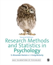 Research Methods and Statistics in Psychology ebook by Craig McGarty, Alex Haslam