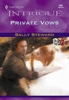 Private Vows ebook by Sally C. Berneathy