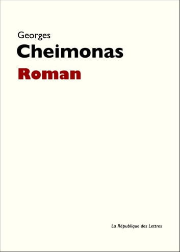 Roman eBook by Georges Cheimonas