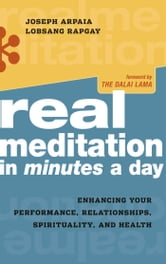Real Meditation in Minutes a Day - Enhancing Your Performance, Relationships, Spirituality, and Health ebook by Joseph Arpaia,Lobsang Rapgay