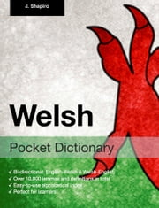 Welsh Pocket Dictionary ebook by John Shapiro