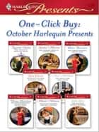 One-Click Buy: October Harlequin Presents ebook by Natasha Oakley,Sandra Marton,Helen Bianchin,Sara Craven,Anne McAllister,Diana Hamilton