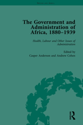 """The Government and Administration of Africa, 1880?939 Vol 5 "" ebook by Casper Anderson"
