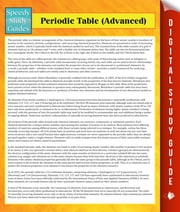 Periodic Table (Advanced) - (Speedy Study Guides) ebook by Speedy Publishing