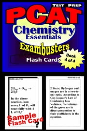 PCAT Test Prep Chemistry Review--Exambusters Flash Cards--Workbook 4 of 4 - PCAT Exam Study Guide ebook by Kobo.Web.Store.Products.Fields.ContributorFieldViewModel