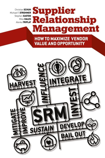 Supplier Relationship Management - How to Maximize Vendor Value and Opportunity ebook by Stephen  Easton,Michael D. Hales,Christian Schuh,Michael F. Strohmer,Alenka Triplat,AT Kearney