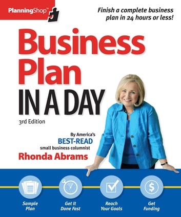 Business Plan In A Day Ebook By Rhonda Abrams 9781933895710