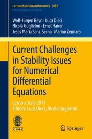 Current Challenges in Stability Issues for Numerical Differential Equations - Cetraro, Italy 2011, Editors: Luca Dieci, Nicola Guglielmi ebook by Wolf-Jürgen Beyn,Luca Dieci,Nicola Guglielmi,Ernst Hairer,Jesús María Sanz-Serna,Marino Zennaro