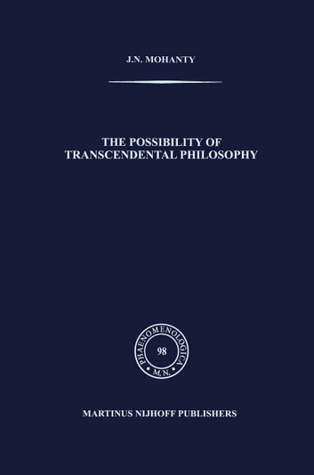 essay on transcendental philosophy