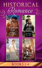 Historical Romance Books 1 – 4: The Harlot and the Sheikh (Hot Arabian Nights) / The Duke's Secret Heir / Miss Bradshaw's Bought Betrothal / Sold to the Viking Warrior ebook by Marguerite Kaye, Sarah Mallory, Virginia Heath,...