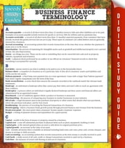 Business Finance Terminology (Speedy Study Guide) ebook by Speedy Publishing