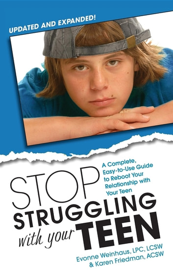 Is Your Teenager Struggling With >> Stop Struggling With Your Teen Ebook By Evonne C Weinhaus