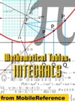Mathematical Tables: Table Of Integrals: (Antiderivative Functions) (Mobi Study Guides)