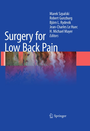 Surgery for Low Back Pain eBook by
