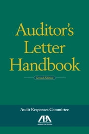 Auditor's Letter Handbook ebook by ABA: Audit Responses Committee