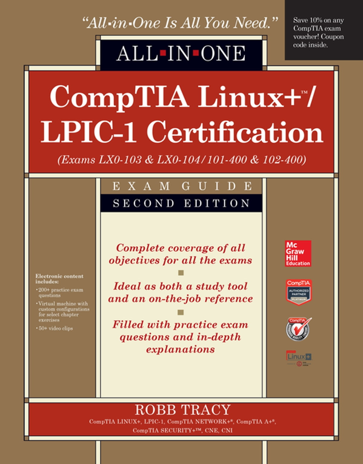 Comptia linuxlpic 1 certification all in one exam guide second comptia linuxlpic 1 certification all in one exam guide second edition exams lx0 103 lx0 104101 400 102 400 ebook by robb h tracy 9780071841719 fandeluxe Gallery