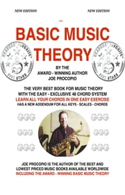 Basic Music Theory By Joe Procopio - The Only Award-Winning Music Theory Book Available Worldwide ebook by Joe Procopio