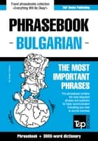 English-Bulgarian phrasebook and 3000-word topical vocabulary ebook by Andrey Taranov