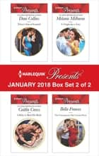 Harlequin Presents January 2018 - Box Set 2 of 2 - Prince's Son of Scandal\A Baby to Bind His Bride\A Virgin for a Vow\The Consequence She Cannot Deny 電子書籍 by Dani Collins, Caitlin Crews, Bella Frances,...
