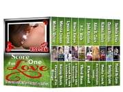 Score One for Love - A Boxed Set of Ten Sexy Sports Romances ebook by Michele Shriver,Marcia James,Lyssa Layne