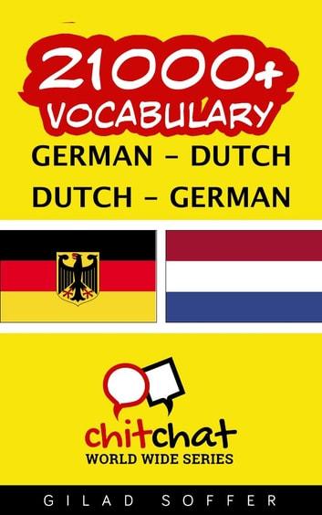21000+ Vocabulary German - Dutch ebook by Gilad Soffer