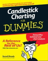 Candlestick Charting For Dummies ebook by Russell Rhoads
