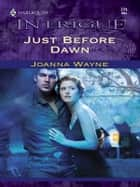 Just Before Dawn ebook by Joanna Wayne