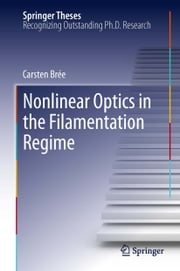 Nonlinear Optics in the Filamentation Regime ebook by Carsten Brée