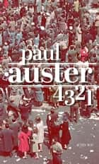4 3 2 1 ebook by Paul Auster, Gérard Meudal