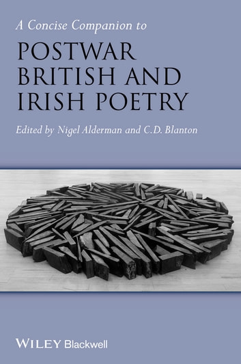 A Concise Companion to Postwar British and Irish Poetry ebook by