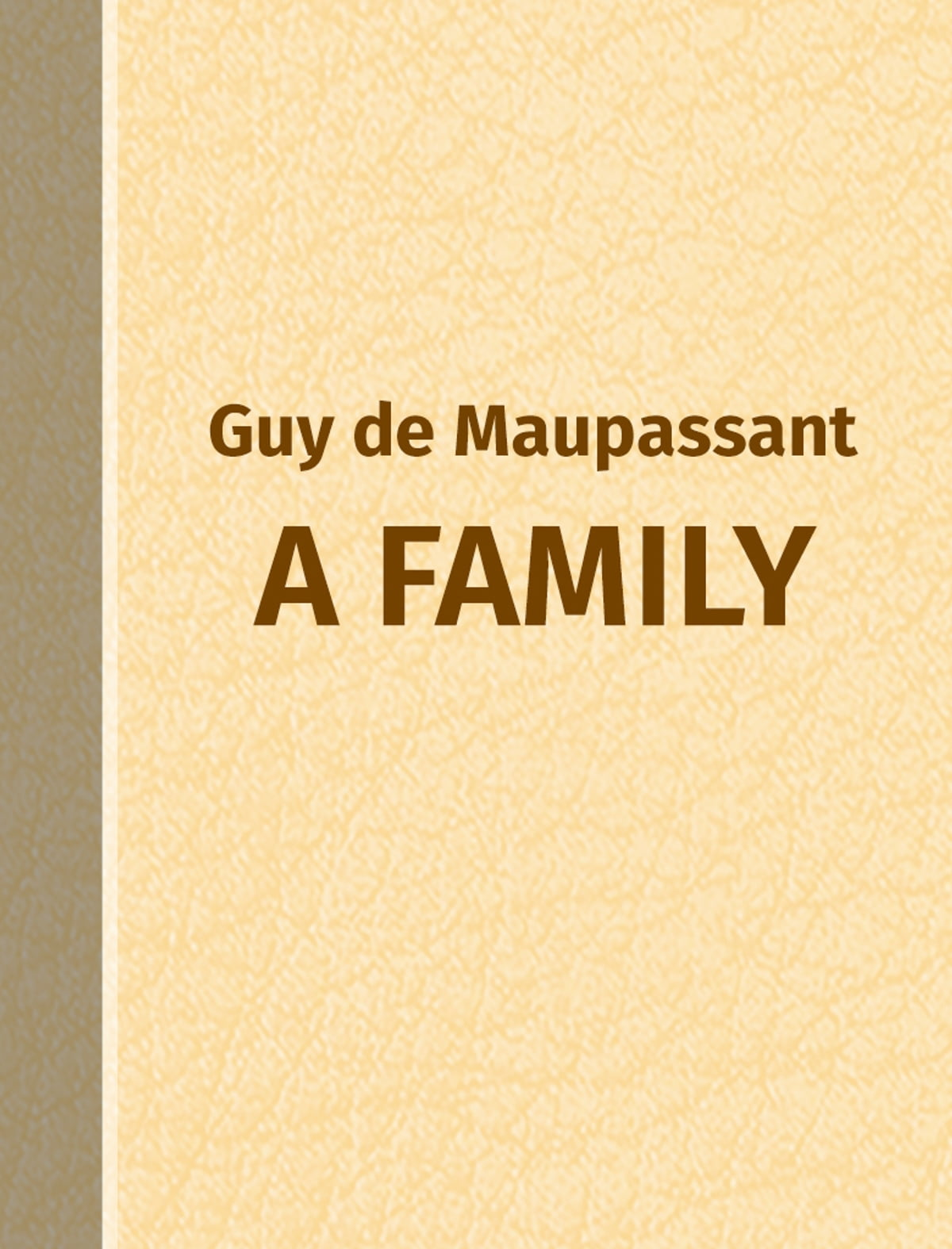 two friends by guy de maupassant essays Guy de maupassant was inspired by his mentor and developed a unique writing style, which combined both realism and naturalism (johnston) realism is a form of literature based on the actuality it.
