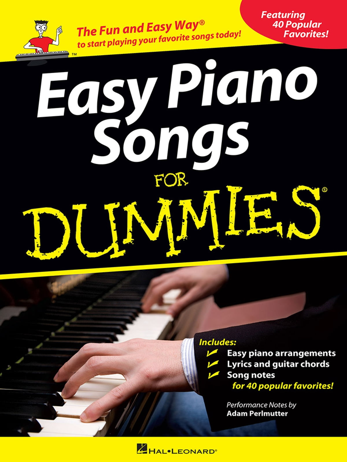 Easy Piano Songs For Dummies Ebook By Adam Perlmutter
