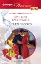 Just One Last Night ebook by Helen Brooks