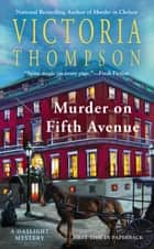 Murder on Fifth Avenue ebook by Victoria Thompson
