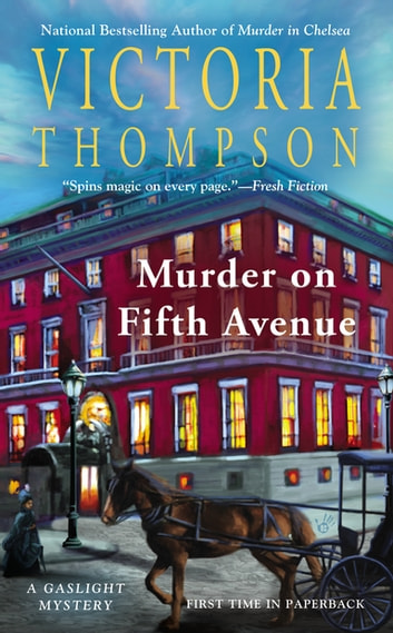 Murder on Fifth Avenue - A Gaslight Mystery ebook by Victoria Thompson