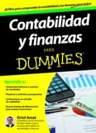 Contabilidad y finanzas Para Dummies ebook by