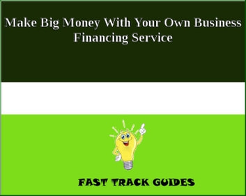 Make Big Money With Your Own Business Financing Service eBook by Alexey