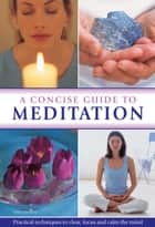 A Concise Guide to Meditation - Practical Techniques to Clear, Focus and Calm the Mind ebook by John Hudson